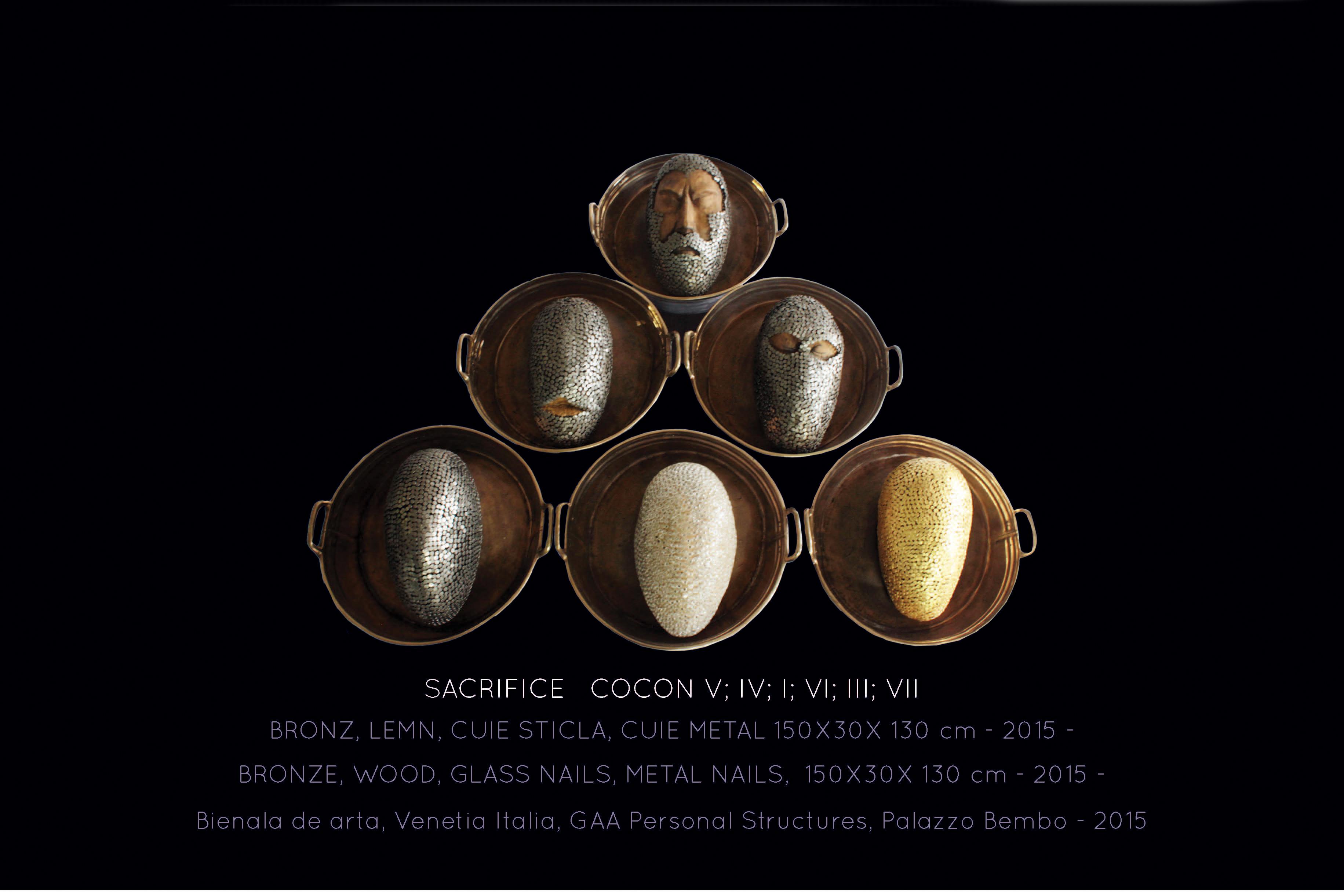 21 The cycle of sacrifice; COCON V;IV;I;VI;III;VII